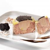 """""""Le Rustignac"""" Véritable Pâté à l'Ancienne (30% de Foie Gras de Canard Entier) et ses Lamelles de Truffes noires du Périgord 2%"""