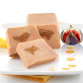 Le Sublime Foie Gras de Canard en Habit de Coing et son Coeur de Figues - Barquette 180 g