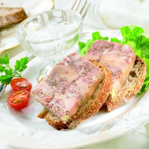La Terrine Rustique au Foie de Canard (20 % de Foie Gras)