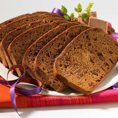 Pain d'épices spécial toast à la fleur de sel - sachet 12 tranches