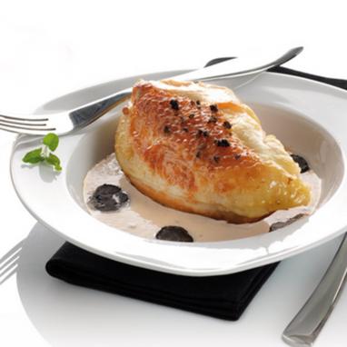 Morceaux Choisis de Pintade en Sauce Crémée au Vin du Périgord et à la Truffe Noire du périgord 2% 800 g