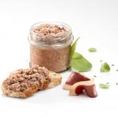« Le Petit Pastisson » Pâté Rustique au Foie et Magret de Canard, Jus de Truffes noires du Périgord (20 % foie gras)