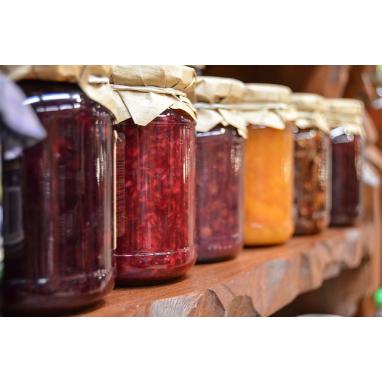 Le Lot de 3 Confitures (Fraises - Figues - Abricots) - Les 3 bocaux de 370 g