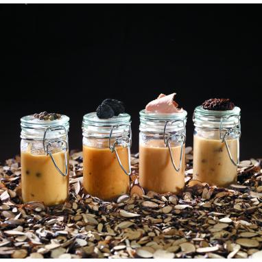 Le lot de 4 Sauces Périgueux aux Truffes Noires du Périgord (1,5% de Truffes - 2% de Jus de Truffes) - 100 g