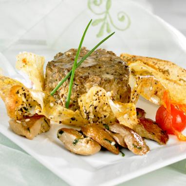 Les Timbales de cèpes au bloc de foie gras de canard (11%) - 4 bocaux 85 g