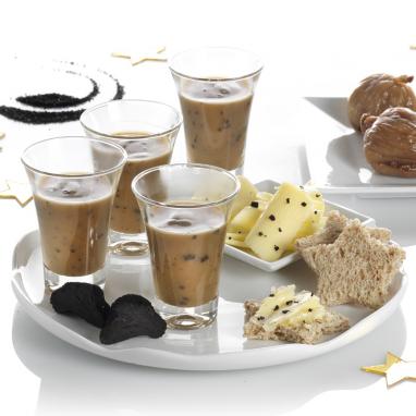 Consommé Royal à la Truffe Noire du Périgord (Jus de Truffes Noires 10 % et Truffes Noires 3 %) - Bouteille de 290 g