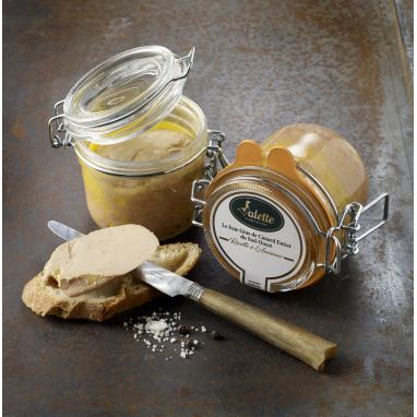 Le Foie Gras de Canard Entier du Périgord « Recette à l'Ancienne » Conserve - Lot de 2 bocaux de 125 g