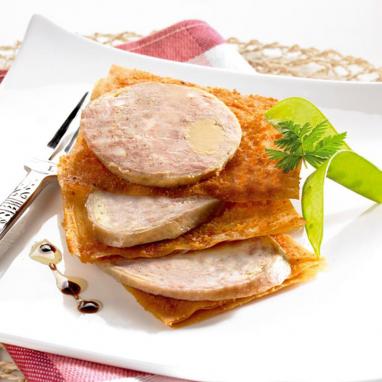 Le Cou de Canard Farci au Foie de Canard + La Sauce Périgueux Truffée 1,5% et 2% Jus de Truffes Noires du Périgord OFFERTE