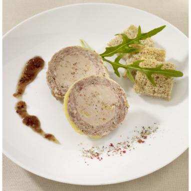 Le Lot de 2 : Le Médaillon au Magret de Canard et au Foie de Canard (20% de Foie Gras )
