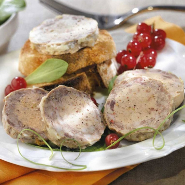 Le Lot de 2 : Le Médaillon au Chevreuil et au Foie de Canard (20% de Foie Gras )