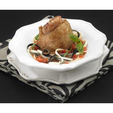 Petite volaille cuisinée A la sauce forestière 350 g