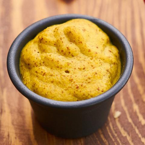 La Moutarde à l'Ancienne aux Cèpes
