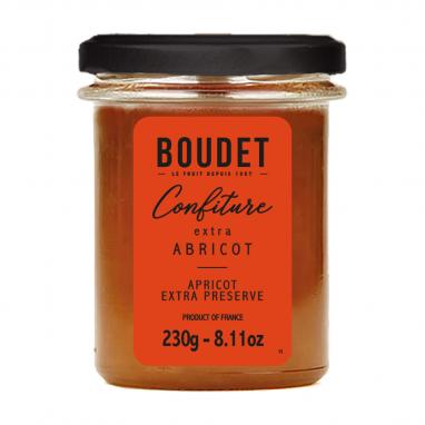 Confiture d'Abricot, bocal de 230 g
