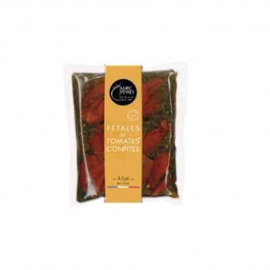 Les Pétales de Tomates Confites à l'Ail des Ours