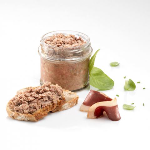 Terrine de Magret de Canard et de Foie de Canard, Jus de Truffes Noires du Périgord (20% de Foie Gras)
