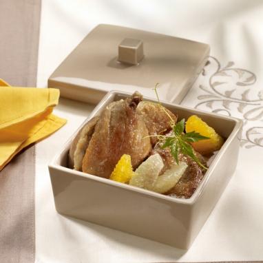 Mijotée de Canard, Sauce au Foie Gras, Jus de Truffe Brumale 350 g