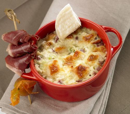 La cocotte de poireaux au rocamadour et magrets s ch s valette - Recette manchons de canard en cocotte ...