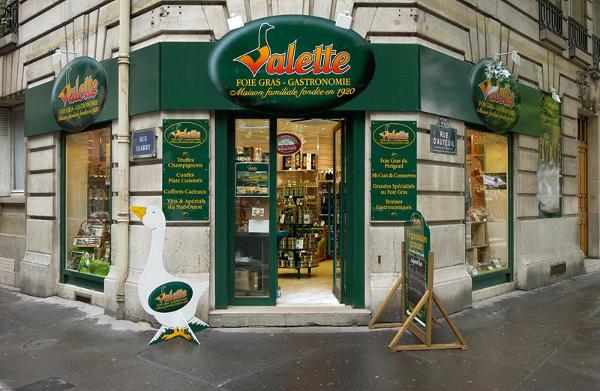 boutique valette paris, boutique foie gras, vente foie gras frais, vente produit perigord