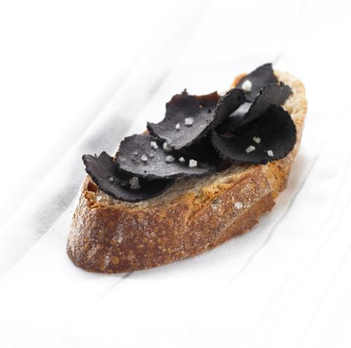 Les tartines de truffes noires valette - Comment cuisiner les truffes noires ...