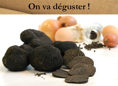 La Truffe noire du Périgord fraîche de saison !