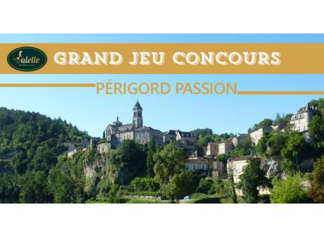 Tirage au Sort Grand Jeu Concours Périgord passion